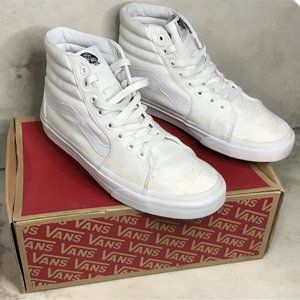 Vans Canvas SK8-HI True White